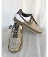 Nike Air Force 1 Size 11 Premium '07 Tweed/Bronzed Olive White AF1 Swoos... - $79.20