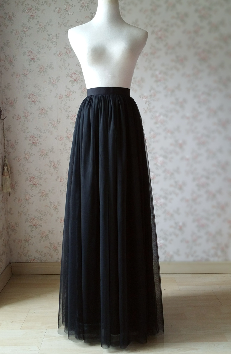 Black tulle skirt 9