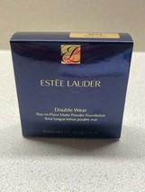 Estee lauder Double Wear en Place Mate Poudre Fond de Teint 4N2 Épicé Sable - $29.58