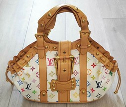 LOUIS VUITTON THEDA PM HAND BAG MONOGRAM MULTI-COLOR M92575 - $345.51