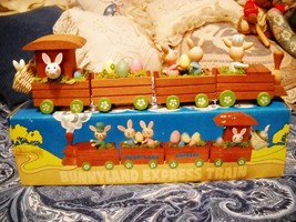 1983 Enesco Bunnyland Express Train #E-3477: Mint In Original Box - $14.00