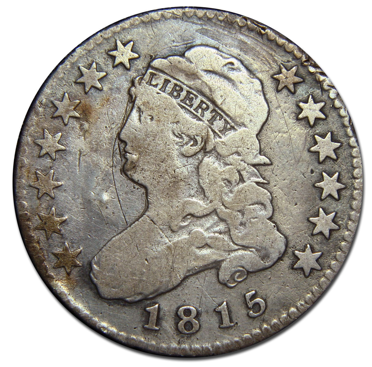 1815 Capped Bust Quarter Dollar 25¢ Coin Lot# MZ 2743