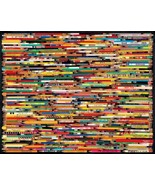 "White Mountain Puzzles Jigsaw Puzzle PENCILS 1000 Piece Sealed 24"" x 30"" - $27.71"