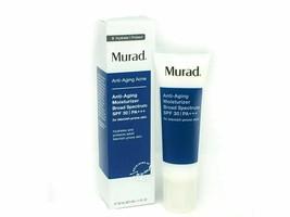 Murad Anti-Aging Acne Moisturizer Broad Spectrum SPF 30, 50ml/1.7oz New ... - $24.74
