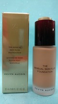 Kevyn Aucoin THE SENSUAL SKIN FLUID FOUNDATION SF14 Dark Beige Rich 0.68... - $8.84
