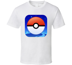 Pokemon Go App Icon New Mobile Game Trending Logo T Shirt - $20.99+