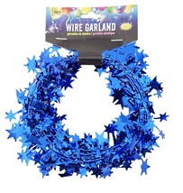 25 Foot Wire Garland - Royal Blue (12 pcs) - $22.81