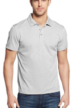 Alfani Men's Classic-Fit Ethan Performance Polo, Silver, Sizs L, MSRP $45 - $19.79