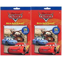 Disney Pixar Cars Stikerland Pad [2-Pack] - $6.36