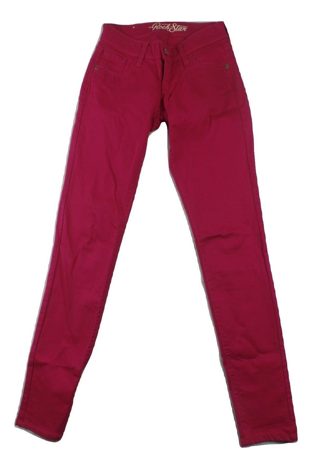 9636530a2ffef S l1600. S l1600. Previous. Old Navy Rockstar Womens Jeans Size 0 (Actual  24x32) Skinny Raspberry Jegging