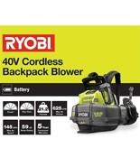 Ryobi RY40440 145 MPH 625 CFM 40V Cordless Backpack Blower (TOOL ONLY) - $98.99
