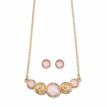 Avon Supernova Rose Necklace and Earring Set - $14.99