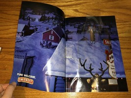 1987 SMIRNOFF VODKA 3D Plastic Bottle Christmas Vintage PRINT AD - $2.99