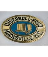 Vintage INGERSOLL-RAND MOCKSVILLE NC Trailer CDHit Made in USA Belt Buck... - $14.60