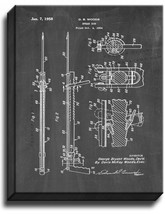 Spear Gun Patent Print Chalkboard on Canvas - $39.95+