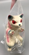 Max Toy Red and Green Striped Large Nekoron - Mint in Bag image 2