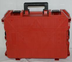 Milwaukee 48228030 Job Site Organizer Weather Seal 10 Bins Red Clear Lid Box image 5