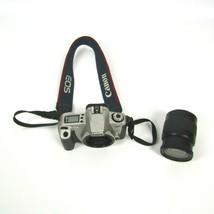Canon Rebel EOS 2000 35mm Film SLR Camera Lot w/ EF 28-80mm 1:3.5-5.6 Zoom - $28.88