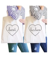 Best Babes BFF Matching Natural Canvas Bags - $30.99