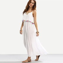Bohemian Long Dress Sleeveless Maxi Dress - $45.00