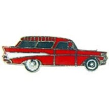 Chevy Nomad 1957 Station Wagon Car Emblem Pin Pinback - $7.91