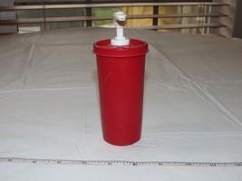 Tupperware Vintage Ketchup Pump Dispenser 1329 Picnics cookouts *^ - $16.33