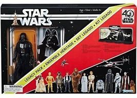 Star Wars The Black Series 40th Anniversary Darth Vader Action Figure & Diorama - $27.67