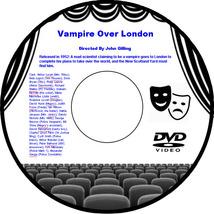 Vampire Over London 1952 DVD Movie Horror Arthur Lucan Bela Lugosi Dora ... - $3.99