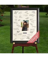 Personalized Gift - Celebrations Graduation Signature Guest Book Picture... - $54.27