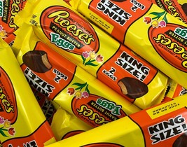 Reese's Milk Chocolate Peanut Butter Eggs, King Size, Box of  - $19.39+