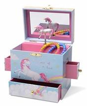 Jewelkeeper Musical Jewelry Box with 3 Drawers, Rainbow Unicorn Design, The - $43.72