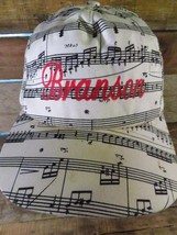 BRANSON Missouri MO Ozarks Music Staff Notes Snapback Adult Hat Cap  - $19.79