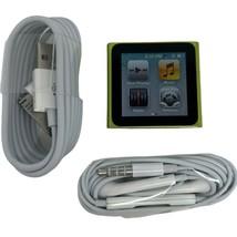 Apple iPod Nano 6th Generation 16GB Green , Excellent , 1 Year Warranty  - $164.89