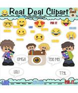Social Media Clip Art - So Cute - $1.25