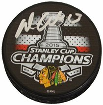 Daniel Carcillo Signed Chicago Blackhawks 2015 Stanley Cup Champs Logo H... - $65.29