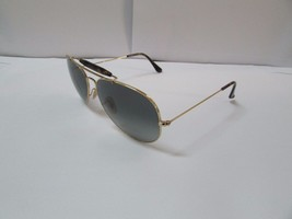 Ray-Ban Sunglasses Outdoorsman II 3029 181/71 Gold Havana Grey Gradient NEW - £69.94 GBP