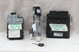 05 Nissan Pathfinder ECU ECM Computer BCM Ignition Switch W/ Key MEC35-752-A1