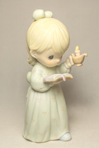 Precious Moments - Once Upon A Holy Night - 523836 - Porcelain Figurine - $14.25