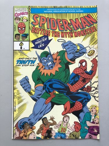 Spider-Man Battles the Myth Monster! (1991) #1A