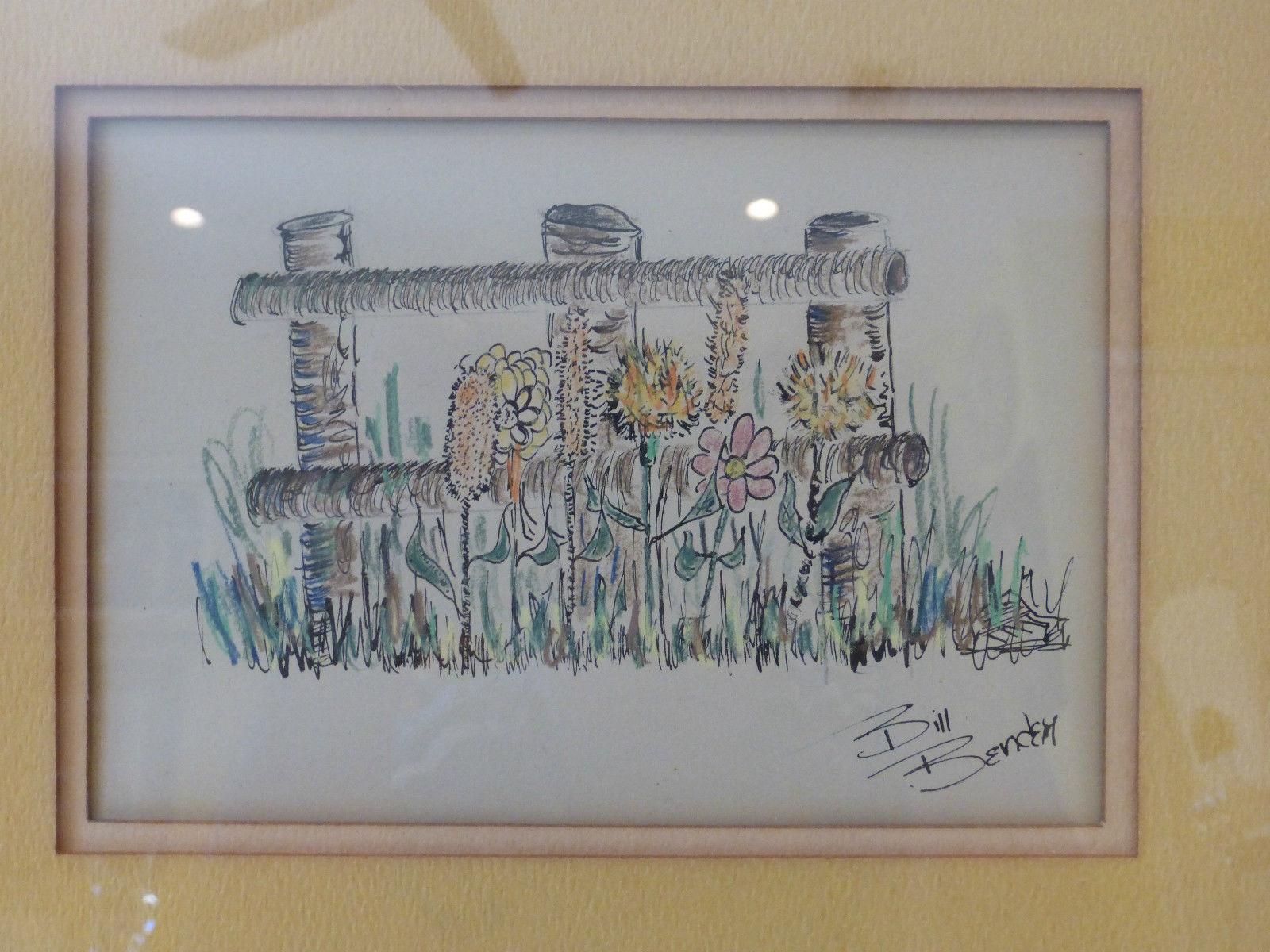 Bill Bender Signed Original Framed Painting