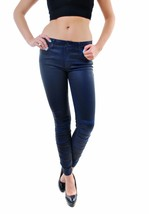 Joe's Jeans Ruched Skinny Ankle I819705500 Blue Depths Size W26 RRP $371... - $257.39