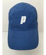 Prince 5 Panel Tennis Hat Lightweight Blue Cap - $26.68