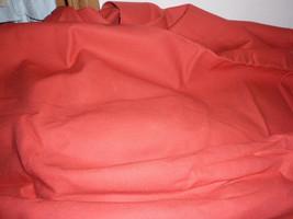 "Classic Denim 60"" Wide Burn Orange Cotton Twill Bull Weight 10+ Heavy Denim Jean - $9.99"