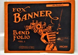 Alto Saxophone Fox Banner Band Folio Vol. 1 - $10.00