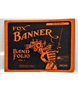 Alto Saxophone Fox Banner Band Folio Vol. 1 - $10.00