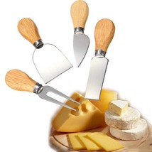 Knives Bard Set Handle Cheese Knife Kit Kitchen Cooking Tools Useful Acc... - £11.65 GBP