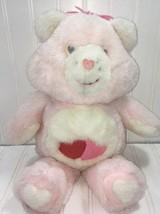 Bear Plush Stuffed Animal Toy Pink 16 inch misc26 - $5.68