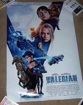 """VALERIAN"" MOVIE  Approx 24""X 36"" PROMO POSTER  - $14.00"