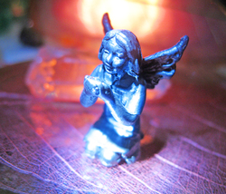 Haunted Fairy New Growth Changes Love Magick Heavy Pewter Witch Cassia4 - $34.00