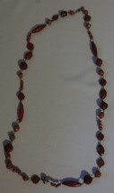 Cookie Lee Cinnabar Bloom  Necklace RARE - $15.00